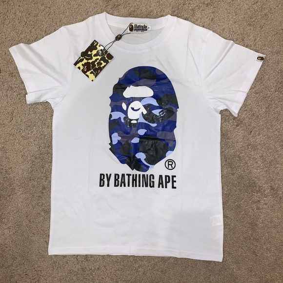 d6ba1fbd3700 Bathing Ape Bape Camouflage T-Shirt